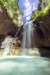 beautiful cascade environment falls